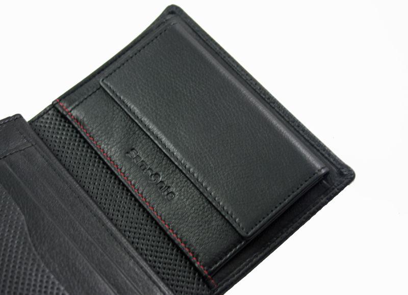 8d299fbb5c4cf Portfel męski Samsonite RFID, skórzany w kolorze czarnym • Arena.pl