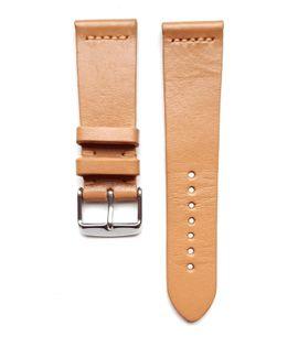 Pasek do zegarka 22mm skóra jasno beżowy- krokodyl - polskie - Lamato