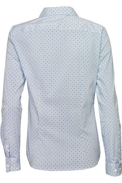 H&M Błękitna Koszula, Groszki - 42 / XL zdjęcie 2