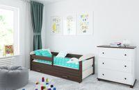 Łóżko KASIA 160 x 70 z szufladą + barierka ochronna + MATERAC GRATIS