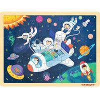 TOP BRIGHT - Puzzle drewniane kosmos (48 el.)