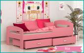 Łóżko dla dzieci GRZEŚ 160x80 + szuflada + materac KOLORY