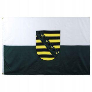 Flaga na maszt 90 x 150 cm Saksonia