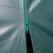 Przenośny namiot dla bydła, PVC, 3,3 x 12,8 m, ciemnozielony zdjęcie 7