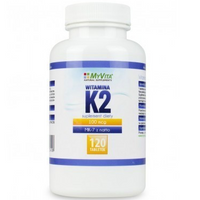 Witamina K2 MK-7  K2 MK7 100mcg z natto K2MK7 120 tabletek MyVita