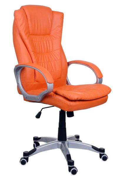 Fotel biurowy GIOSEDIO pomarańczowy,model BSU009 zdjęcie 1