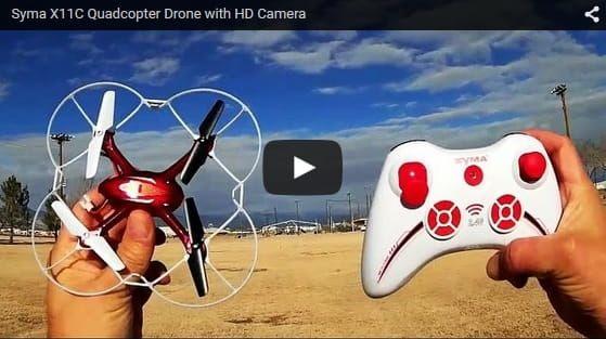 Dron Syma X11C z kamerą HD 2MP zdjęcie 8