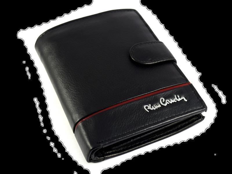 Portfel męski Pierre Cardin 326A tilak 15 skórzany z ochroną RFID zdjęcie 4