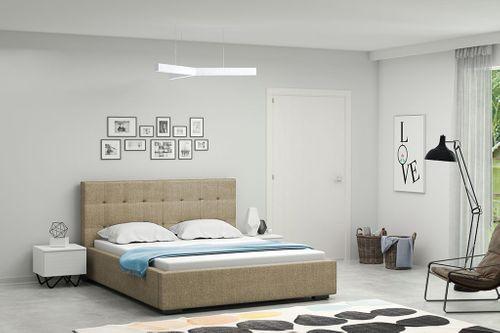 Łóżko tapicerowane 160x200 + stelaż SZYBKA WYSYŁKA na Arena.pl