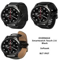 OVERMAX Smartwatch Touch 2.6 Black 3xPasek BLT IP67