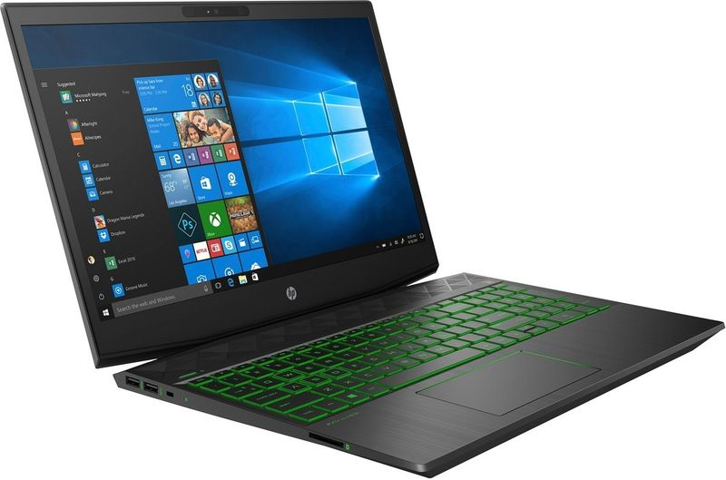 HP Pavilion Gaming 15 FullHD IPS Intel Core i5-8300H 16GB DDR4 512GB SSD NVMe NVIDIA GeForce GTX 1050 Ti 4GB Windows 10 zdjęcie 2