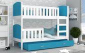 Łóżko piętrowe TAMI COLOR 190x80 szuflada + materace zdjęcie 8