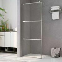 Ścianka prysznicowa, przezroczyste szkło ESG, 140 x 195 cm