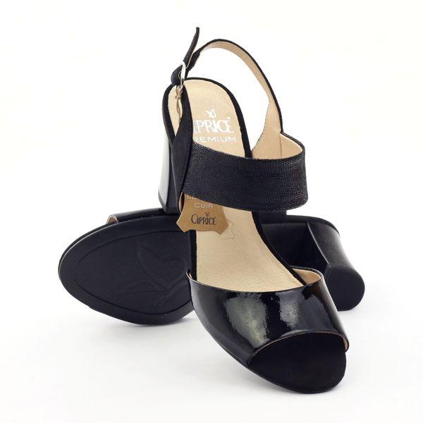 Sandały damskie lakierowane Caprice 28307 r.37,5