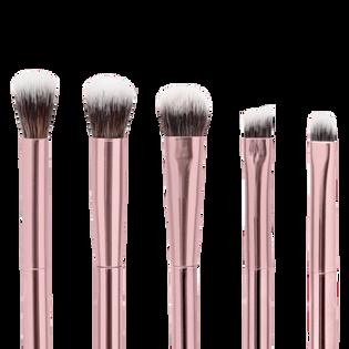 GLOV Zestaw pędzli do makijażu oczu Eye Brushes - Różowy