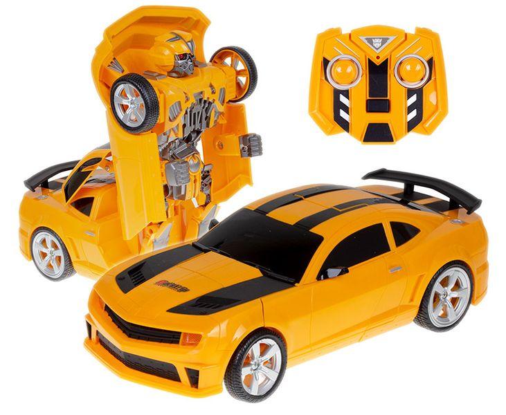 Transformer auto robot 2w1 Bumblebee zdalnie sterowany RC 2.4GHz U20 zdjęcie 1