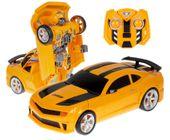 Transformer auto robot 2w1 Bumblebee zdalnie sterowany RC 2.4GHz U20