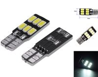 ŻARÓWKA LED T10, W5W, W10W, W16W, W3W, R10 12V 3W CANBUS 240lm boczna