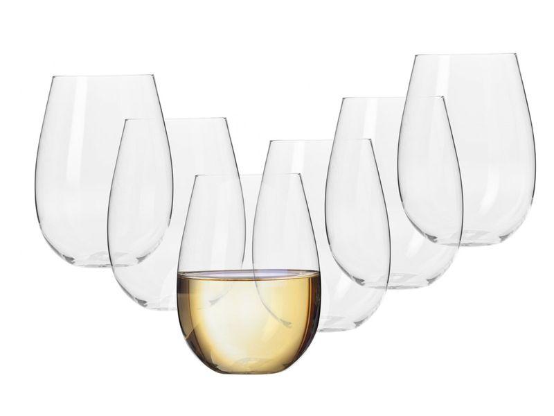 Szklanki do wina białego 500 ml Harmony KROSNO na Arena.pl