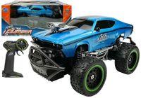 Auto Zdalnie Sterowane R/c 6.5 Km/h Wysokie Koła Niebieskie