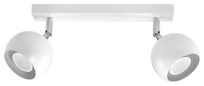 Plafon OCULARE 2 Biały lampa domowa nowoczesna kuchnia salon jadalnia zdjęcie 1