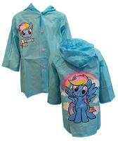 Płaszcz przeciwdeszczowy My Little Pony (5902605120358 Blue 110/116)