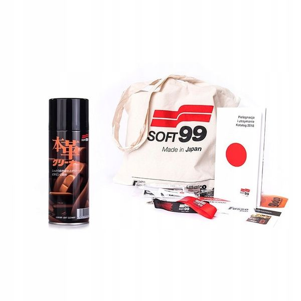 Soft99 leather seat cleaner na Arena.pl