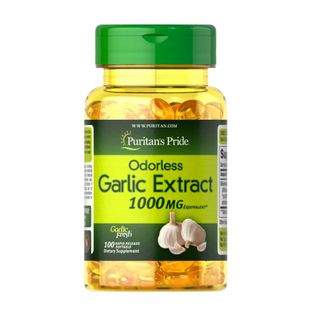 Puritan's Pride Odorless Garlic 1000mg 100 softgels