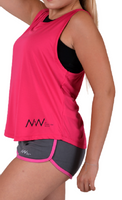 Fitness Woman oversize pink S