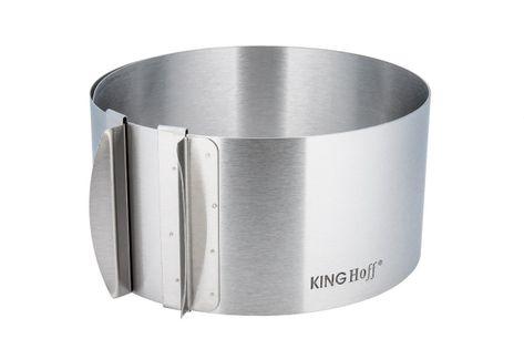 Regulowana Tortownica Forma Obręcz Do Tortów Kinghoff Kh-4614