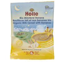 Holle Kaszka mleczno-bananowa pełnoziarnista po 6 miesiącu - 25 g