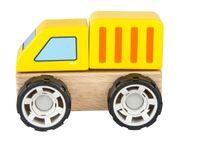 Klocki Drewniane Samochód Ciężarówka
