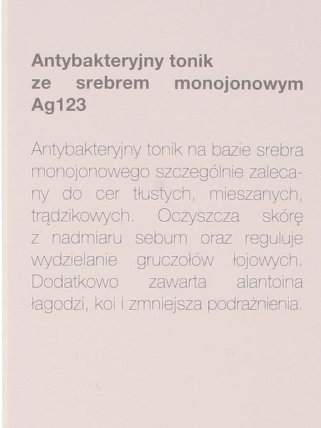 Tonik antybakteryjny ze srebrem monojonowym - Invex - 200ml zdjęcie 2