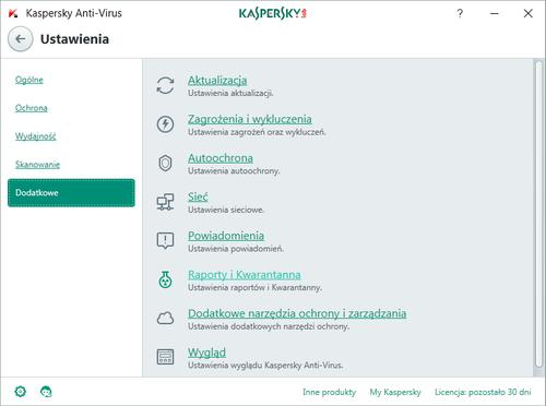 Kaspersky Anti-Virus 5 komputerów / 1 rok kontynuacja na Arena.pl