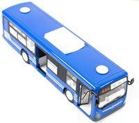 Autobus Zdalnie Sterowany Rc Z Drzwiami Niebieski