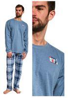 piżama męska CORNETTE 124/166 ROUTE bawełna M