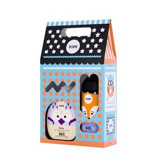 Zestaw dla dzieci Jaśmin i Pomarańcza (mydło+żel+naklejka) Yope