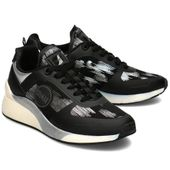 Colmar - Sneakersy Damskie - TRAVIS UNIKA 139 BLACK/SILVER 36