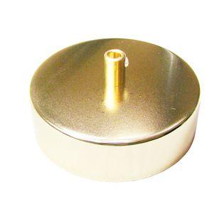 Podsufitka Sufitowa złota mosiądzowana fi 100mm 1 OTWÓR