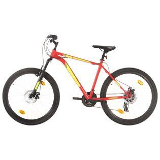 Lumarko Rower górski, 21 przerzutek, 27,5'', rama 42 cm, czerwony