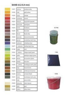 Piasek dekoracyjny kolor hiacynt 1kg