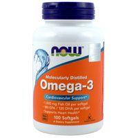 Now Foods Omega-3 1000 Mg 100 K