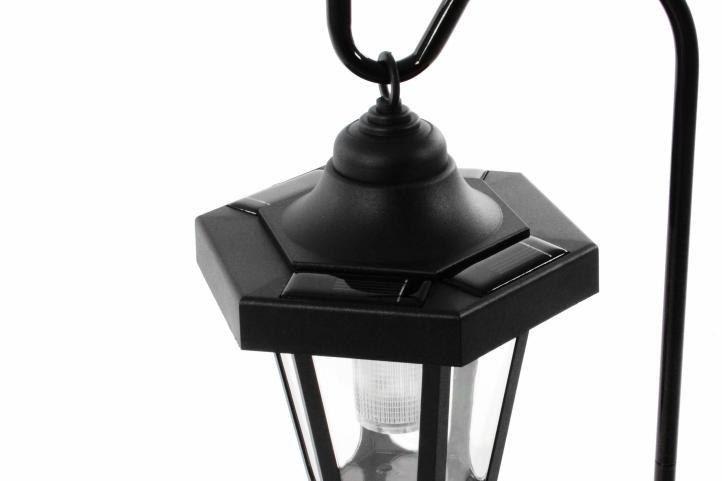 Lampa solarna w kształcie latarni LED, wysokość 70 cm zdjęcie 5