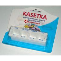 Kasetka do dawkowania leków dzienna KD4-A, 1 sztuka