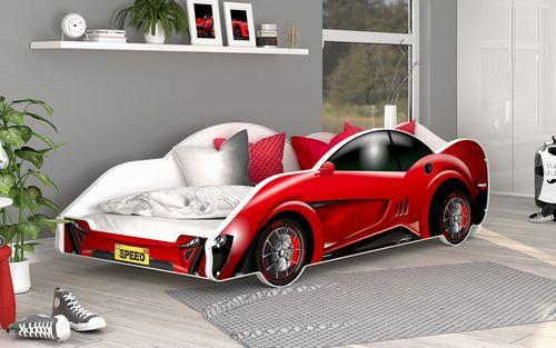 Duże Łóżko AUTO SUPER CARS 180x90 HIT na Arena.pl