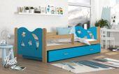 Łóżko dla dzieci MIKOŁAJ 190x80 + szuflada + materac zdjęcie 1