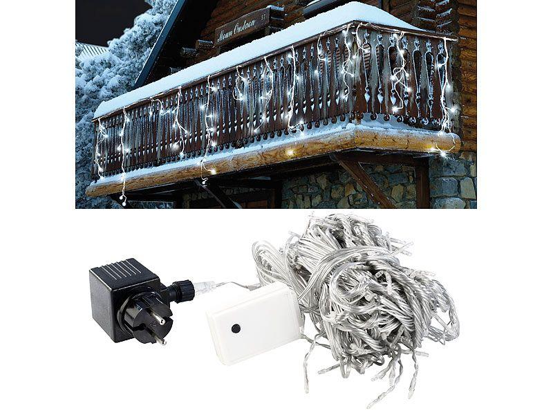 Lampki świąteczne LED zimna biel Lunartec zdjęcie 3