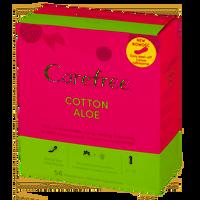 CAREFREE Cotton Aloe 56szt - wkładki higieniczne