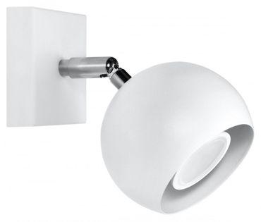 Kinkiet OCULARE Biały lampa domowa nowoczesna kuchnia salon jadalnia