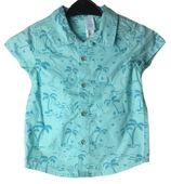 Koszula miętowa palmy C&A 80